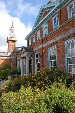 Haberdashers' Aske's Boys' School - View of the Clock Tower from Aldenham House