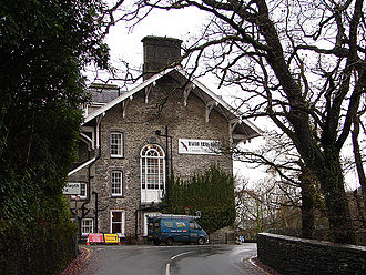 Devil's Bridge, Ceredigion - Hafod Arms Hotel, originally a smaller lodge built by Thomas Johnes