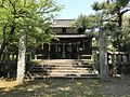 Haiden of Hirume Shrine in Nakatsu, Oita.jpg