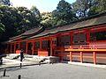 Haiden of Lower Shrine of Usa Shrine 1.jpg