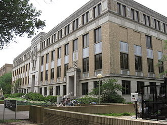 Texas A&M University - The Michel T. Halbouty Geosciences Building houses the Department of Geology and Geophysics.