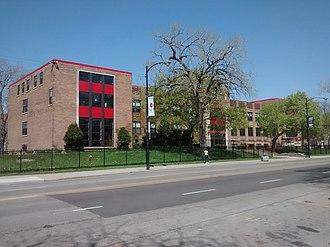 Hales Franciscan High School - Image: Hales Franciscan High School in May 2015