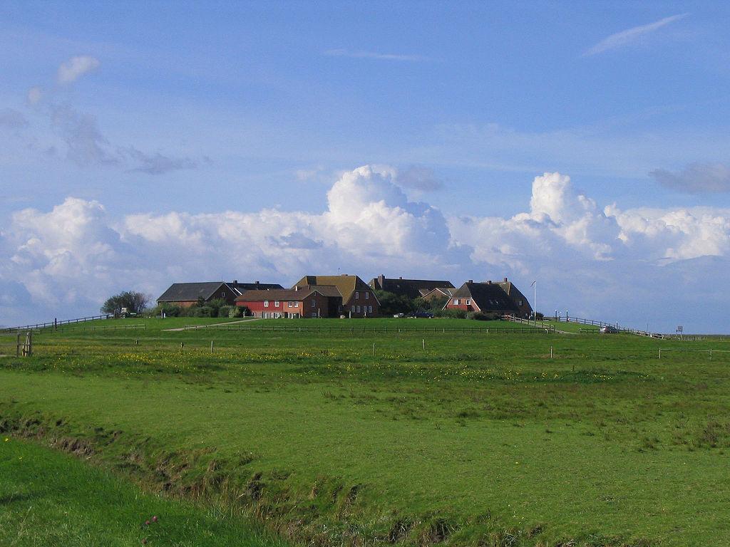 Skyline of Hooge Huuge (nf) / Hoge (dan)