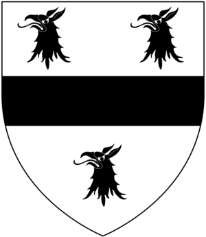 John Hales (bishop of Coventry and Lichfield) - Image: Hals Arms