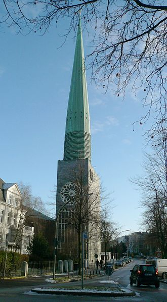 St. Nicholas' Church, Hamburg - New Church of St. Nicholas in Harvestehude