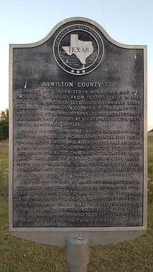 Hamilton County, Texas