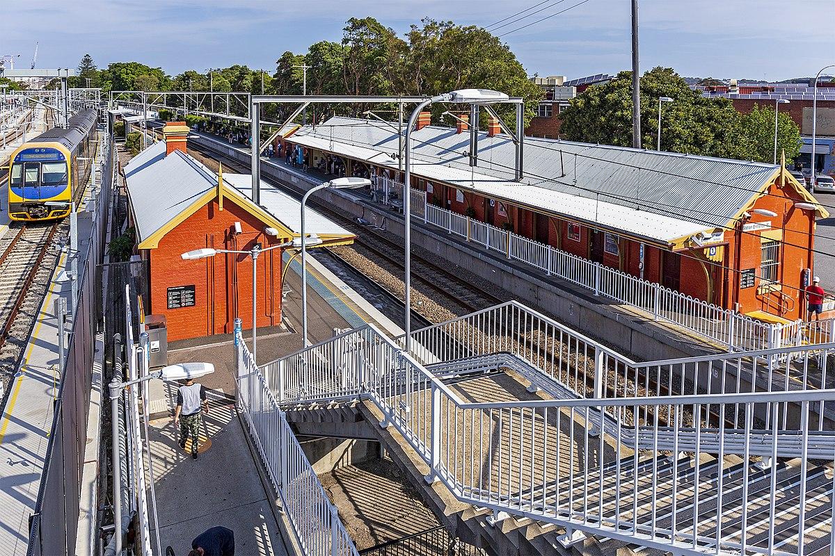 Hamilton Railway Station New South Wales Wikipedia