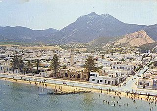 Hammam-Lif Place in Ben Arous Governorate, Tunisia