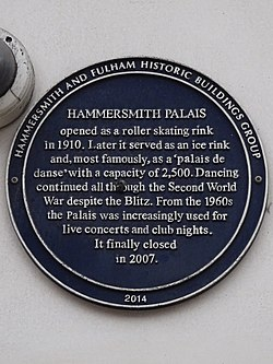 Hammersmith palais (hammersmith and fulham historic buildings group)