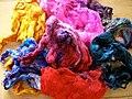 Hand Dyed Silk Noil.jpg