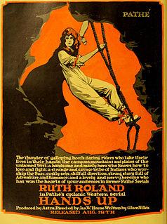 <i>Hands Up</i> (serial) 1918 film