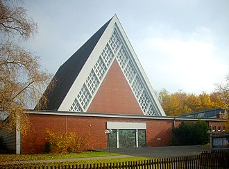Tabernacle - Zu den heiligen Engeln, Hanover, completed 1964