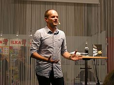 Harald Rosenløw Eeg at Göteborg Book Fair 2012 5.jpg