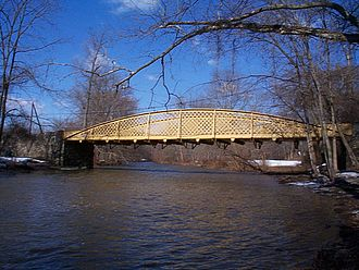 National Register of Historic Places listings in Chester County, Pennsylvania - Hares Hill Road Bridge, Northern