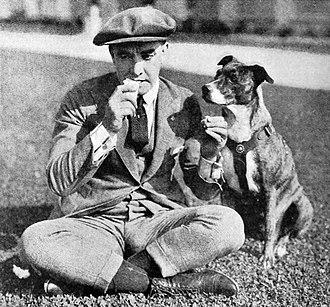 Harry A. Pollard - Director Harry A. Pollard on a lunch break (1921)