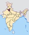 Haryana in India.png