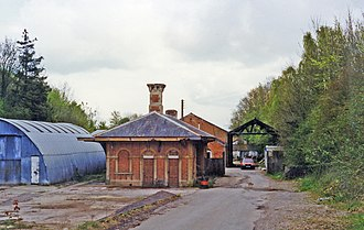 Chard branch line - Hatch station building in 1995