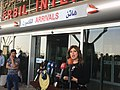 Head of Erbil airport gives press conference, Sep 29, 2017.jpg