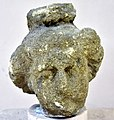 Head of a young man or a god from Hatra, Iraq. 2nd-3rd century CE. Sulaymaniyah Museum.jpg