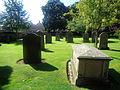 Headstones, St. James' Church, Wetherby (10th August 2015).JPG