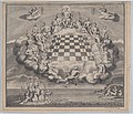 Heavenly Scene with the Gods of Olympus Surrounding a Chess Board, Poseidon and Pan Below MET DP875896.jpg