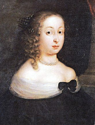 Hedwig Eleonora of Holstein-Gottorp - Image: Hedwig Eleanor of Sweden c 1655 by David von Krafft