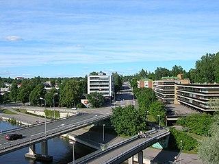 Heinola Town in Päijänne Tavastia, Finland