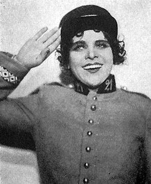 Mam'zelle Nitouche - Swedish soprano Helga Görlin in Mam'zelle Nitouche c1930.