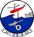 Helicopter Anti-Submarine Squadron 9 (US Navy) insignia 1957.png