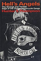 Book cover with a photo of a man in a patched denim jacket