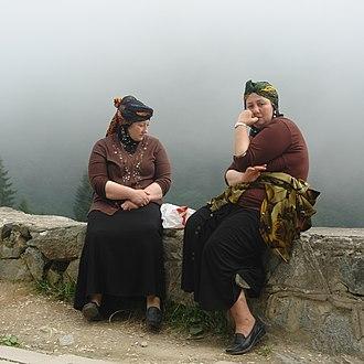 Hemshin peoples - Hemsheni women Rize, Turkey