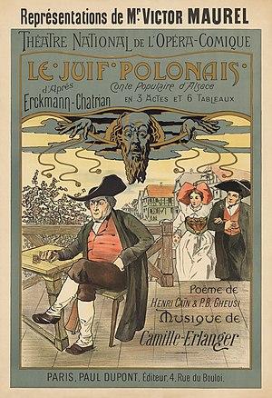 Poster for Le Juif Polonais