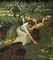 Henry Herbert La Thangue - Gathering Plums.jpg