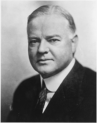 1928 United States presidential election in South Carolina - Image: Herbert Hoover NARA 532049