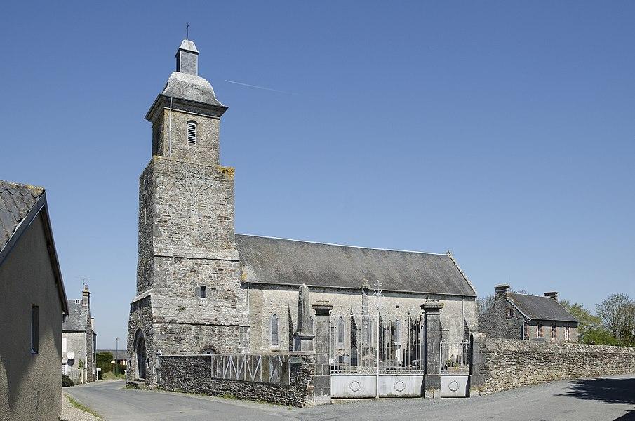 Saint-Gratien church - Hérenguerville, Manche, France