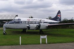 "De Havilland DH.114 ""Heron"" at Croydon Airport"