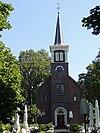 foto van Doopsgezinde kerk met kosterswoning