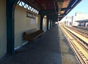 Hewes Street (BMT Jamaica Line) - Northbound platform