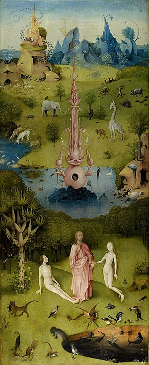 Garden of Eden - Image: Hieronymus Bosch The Garden of Earthly Delights The Earthly Paradise (Garden of Eden)