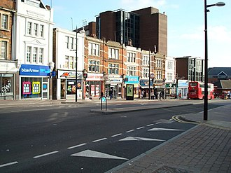 Bromley - Image: High Street, Bromley geograph.org.uk 669856