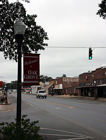 Highway 2 as Main Street in Oak Grove LA.jpg