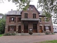 Hinacourt (Aisne) mairie.JPG