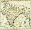 100px hindoostan map 1814