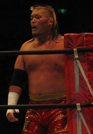 Hiroyoshi Tenzan - Tenzan in June 2014.