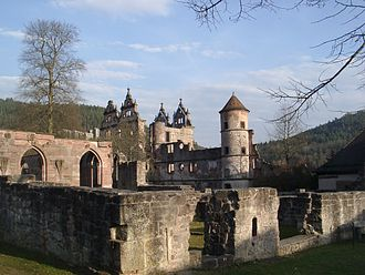 Hirsau Abbey - Ruins of Hirsau Abbey