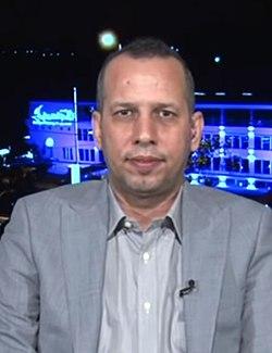 Hisham al-Hashimi - Altaghier TV, Apr 27, 2020.jpg
