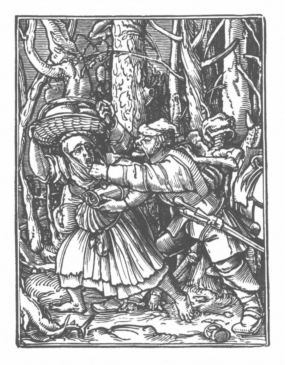 Holbein Danse Macabre 46
