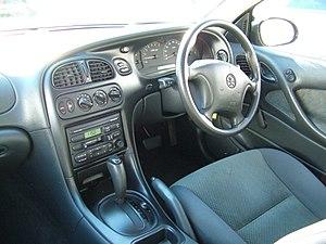 Holden Commodore (VT) - Interior, VT II Commodore Executive