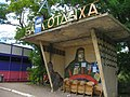 Holiday village Rybakivka. Bus stop. Рибаківка. Рыбаковка - panoramio.jpg