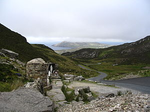 Urris - The Holy Well at Mamore.